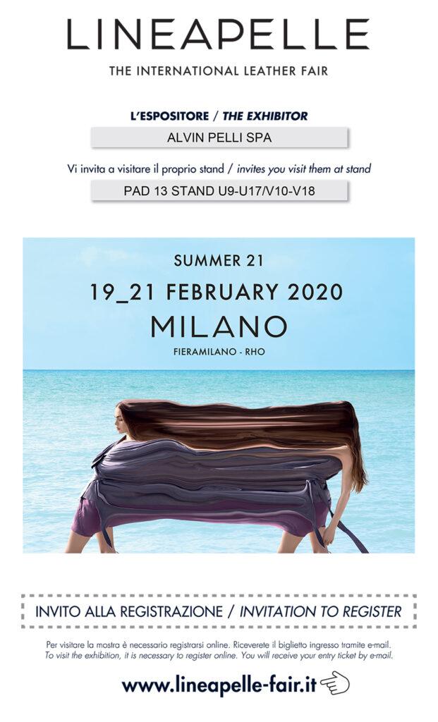 Fiera Lineapelle Milano 2020